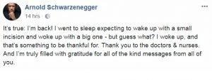 PREDICTING SCHWARZENEGGER'S HEART SURGERY ONE YEAR BEFORE IT HAPPENED!