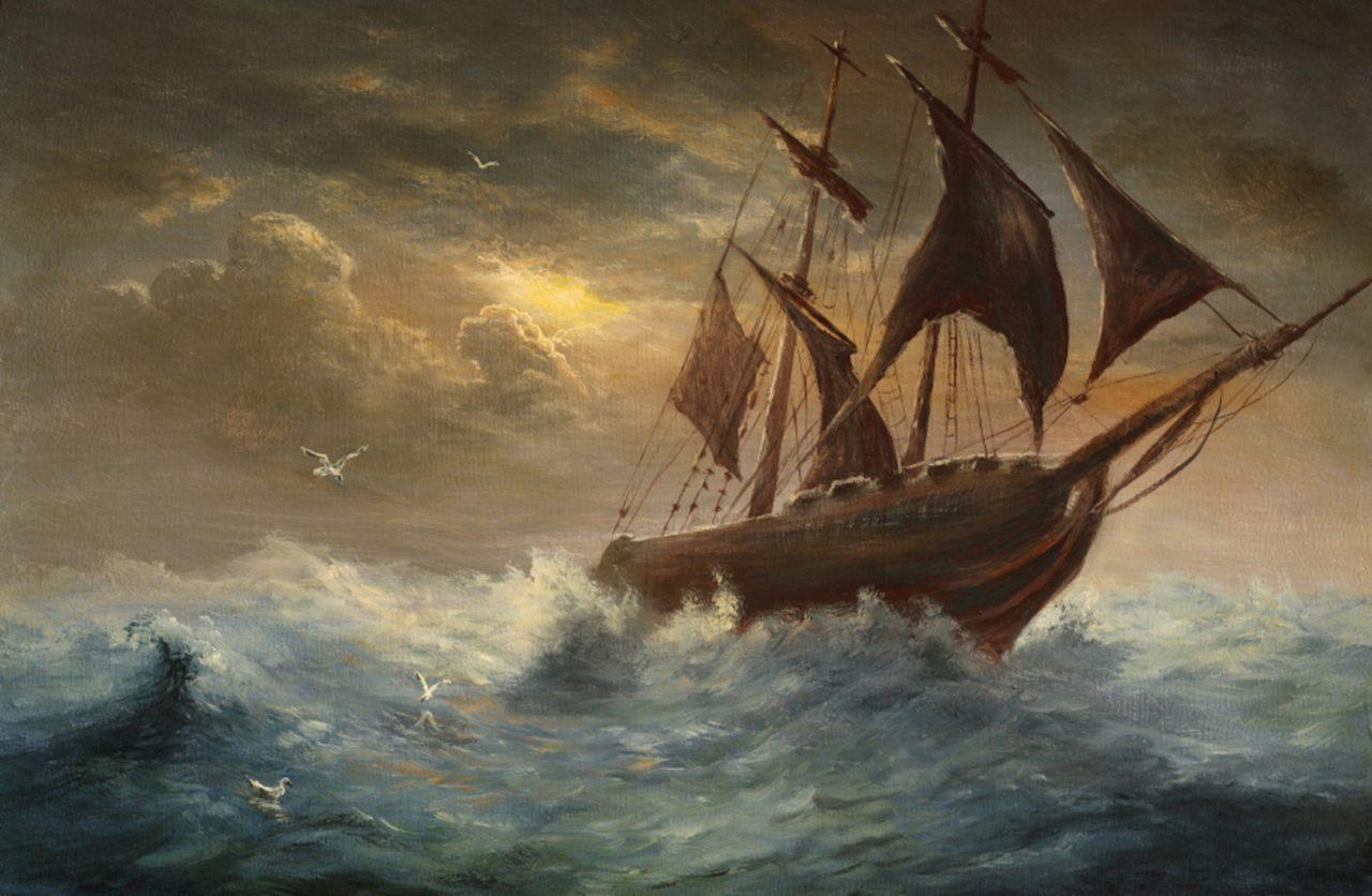 ΝΕΑ ΣΕΛΗΝΗ ΣΤΟ ΖΥΓΟ – 16 ΟΚΤΩΒΡΙΟΥ 2020: Ένα μικρό Αστέρι προστατεύει το καράβι που παλεύει με τα άγρια κύματα.